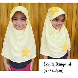 Jilbab Vania Bunga Ceplok (4-7 tahun)