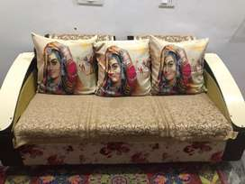 Sofaa five seater with table
