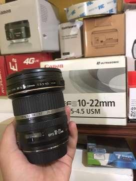 Lensa wide canon 10-22mm