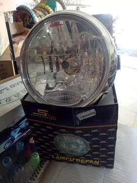 Lampu depan vixion lama bulat barang baru