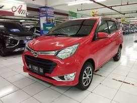 Daihatsu Sigra 1.2 R MT Manual 2018 Merah Bisa DP Minim + Banjir Bonus