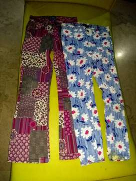 Jeans & Printed Pants for girls (6-12)