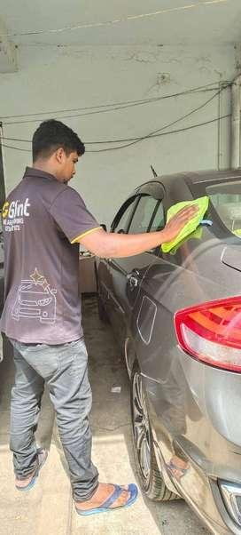 Glint morning car wash part time job