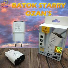 Batok charger Starry 2.1A