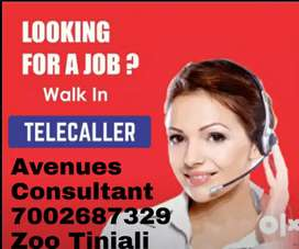 Urgently required Female Tele caller for Educational Institute,Insuran