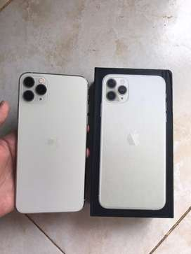 Iphone 11 Pro Max 64 gb wrn putih garansi inter