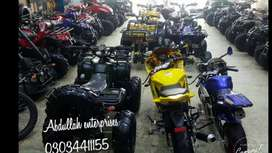 full verity of QUAD ATV BIKE 50cc to 250cc for sale deliver all PK