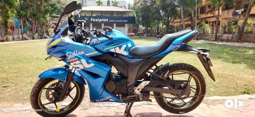 Suzuki Gixxer SF 2016 Blue EMI AVAILABLE 0