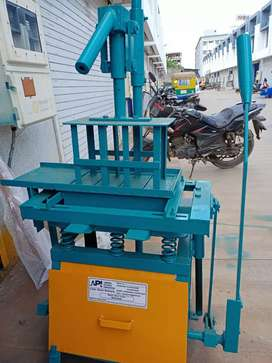 Fly ash and holy block making machine