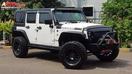 Jeep Wrangler Sahara 3.6 FULL MODIFIKASI Km 40Rb 2012 GRESSS!