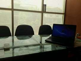Furnished office space on f floor