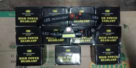 Senter kepala mini Led super terang