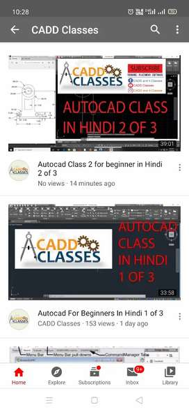CADD and IT classes