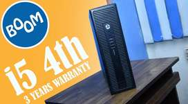FREE HOME DELIVERY - HP CPU i5 4th - GRAPHICS 2GB - 3 YEARS WARRANTY