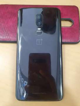 Oneplus 6 8/128 mirror black fresh condition with all accessories