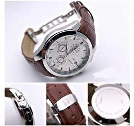 Branded leather watch on   CASH ON DELIVERY   price negotiable hurry