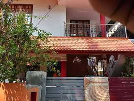 House first floor with carparking area for rent