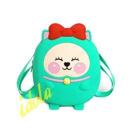 Idolabags - Backpack Anak Jelly Ukuran Mini Karakter Lucu/ Tas Ransel