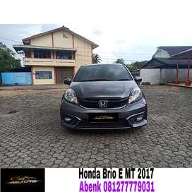 Honda brio satya E manual 2017/2018,KM rendah,mobil sepertu baru #agya