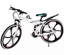 folding cycle with 21  shimano   gears