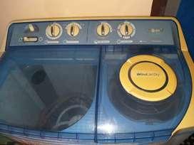 LG semi-automatic washing machine (Blue)