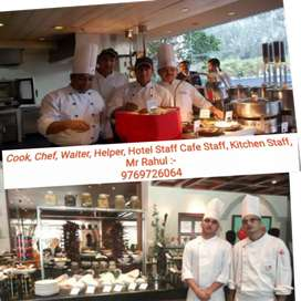 Available STAFF, For Restaurants, Fast Food, Hotel,Kitchen,Cafe Etc,