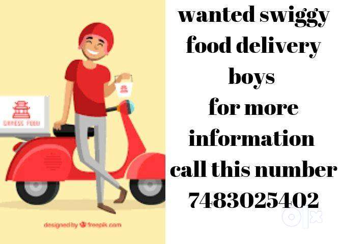 Looking food delivery boys/salary 8000 to 25000/Whitefield 0