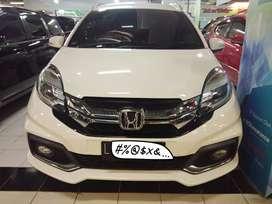 Honda Mobilio 1.5 RS CVT / Matic 2014 Putih DP / Angsuran bisa diatur