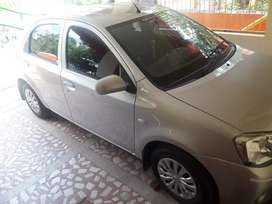 Car for rent with driver.Toyato etios Gd