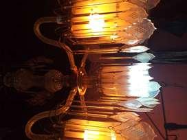 lampu hias 6 lampu,,bisa buat ruang tamu atau teras rumah