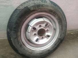 1 set Tyre with drum and 1set Tyre& tube omni tyres