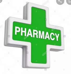WANTED SALES PERSON FOR MEDICALS SHOP