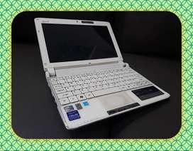 Laptop Bekas ACER ASPIRE ONE 532H Intel Atom N450 1,66Ghz
