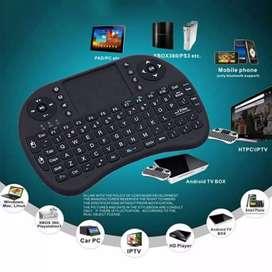 Keyboard wireless mini murah alat tik komputer