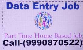 PART TIME JOB Home Typing Jobs / Data Entry Operator work 9990'870'522