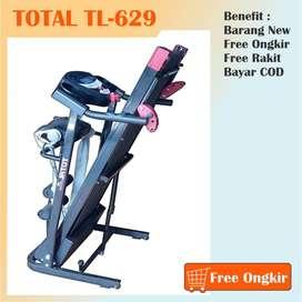 Pusat Diskon Treadmill Elektrik TL-629 Murah, Free Ongkir & Rakit