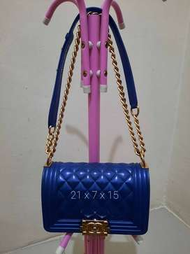 Tas import fiber pesta tas wanita limited edition Pemakaian pribadi