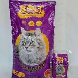 Makanan kucing merk Bolt