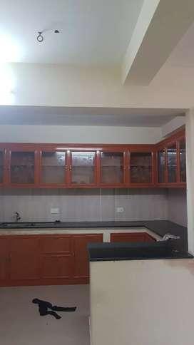 Semi furnished 3bhk Reasonable rent
