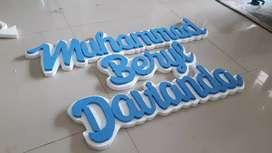 Styrofoam 2D Dekorasi