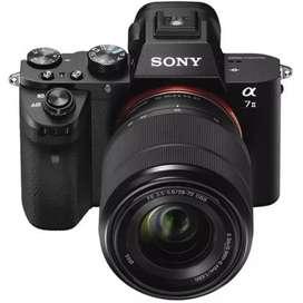 Kamera Sony Alpha A7 MARK II A7 ii Kit Fe 28 - 70 MM BARU