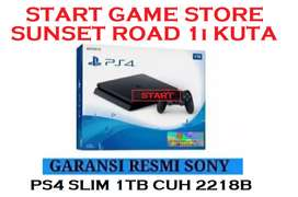 PS4 SLIM 1TB SERI TERBARU 2218 GARANSI SONY INDONESIA 2 TAHUN