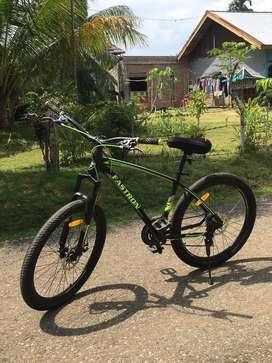 For sale sepeda mtb ukuran 26 mulus like new!!!