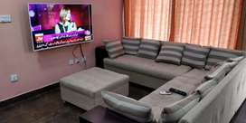 3bed room furnished Ground portion4rent short long tme bahria town rwp