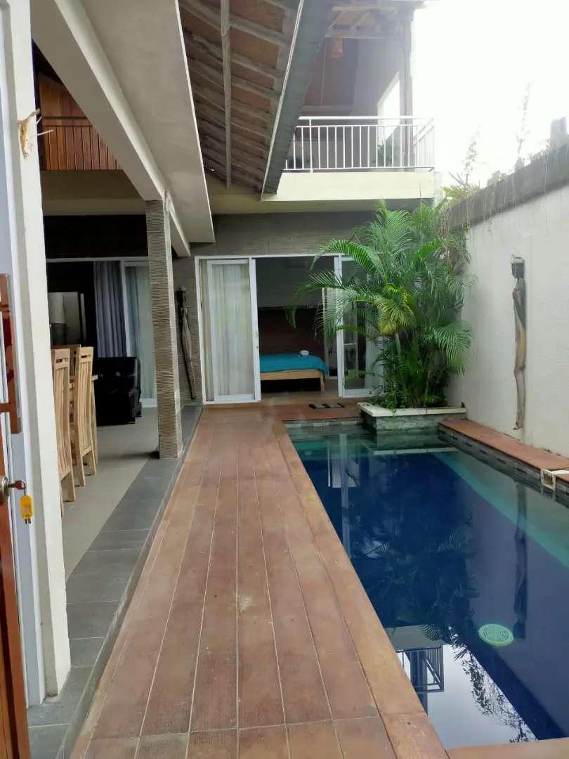 For sale villa 2lt view sawah pool/furni tiying tutul pererenan canggu