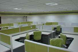 1320 sqft Fuuly Furnished Commercial Office In Janakpuri