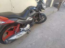 Hero cbz extreme 2010 red black in good condition