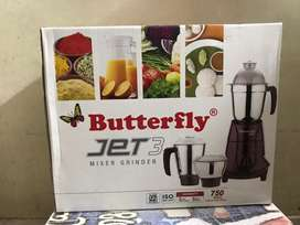 Butterfly 3 jar mixer grinder