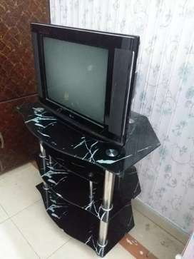 T.V with trolly