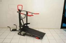 Peralatan fitness = Treadmill Manual 5in1